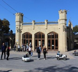 В Кисловодске отремонтируют здание Нарзанной галереи